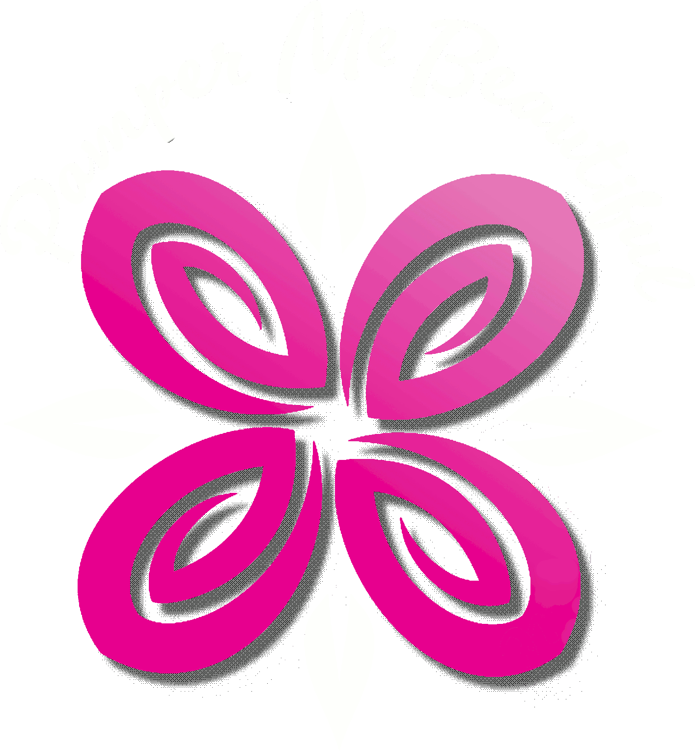 Pamper me beautiful logo and text