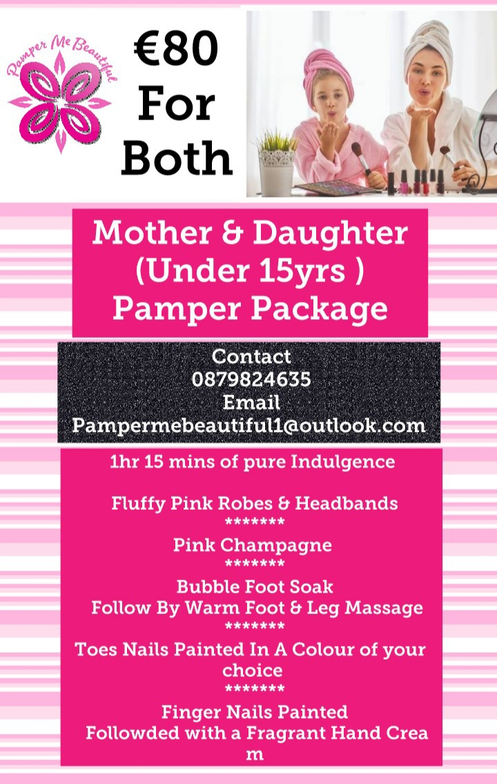 Mother + Daughter package pamper me beautiful